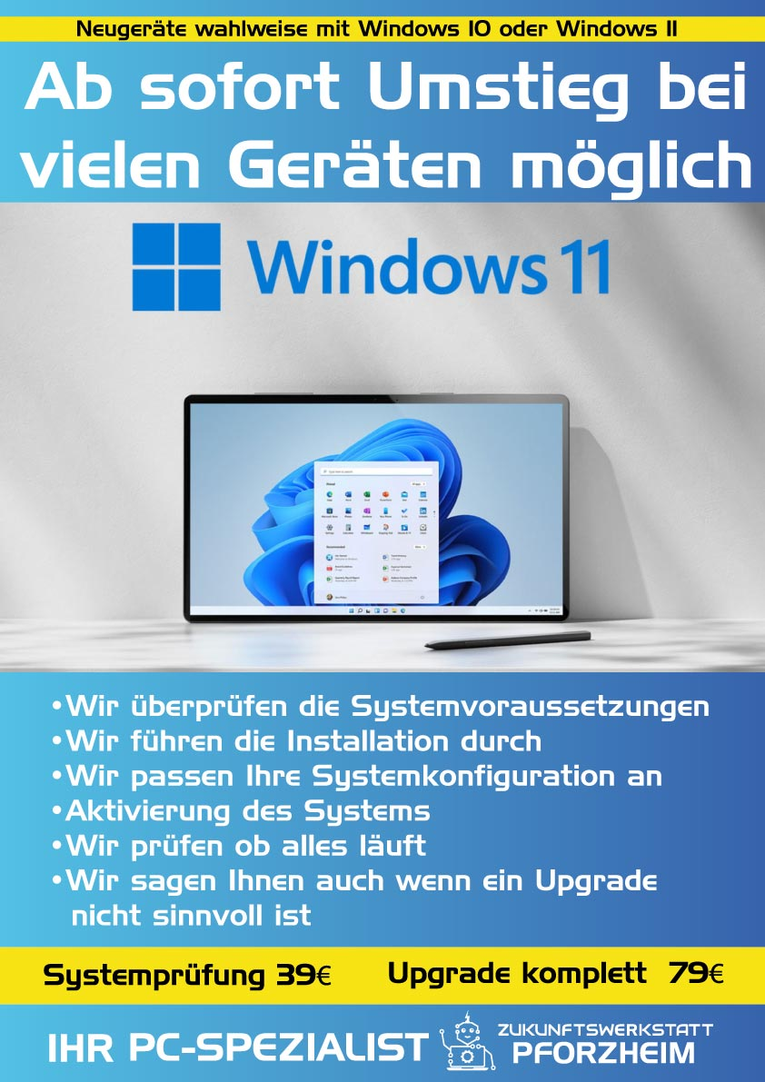 Plakat-Windows-11 Kundenstopper Zukunftswerkstatt Pforzheim Printdesign Grafikdesign by eberin