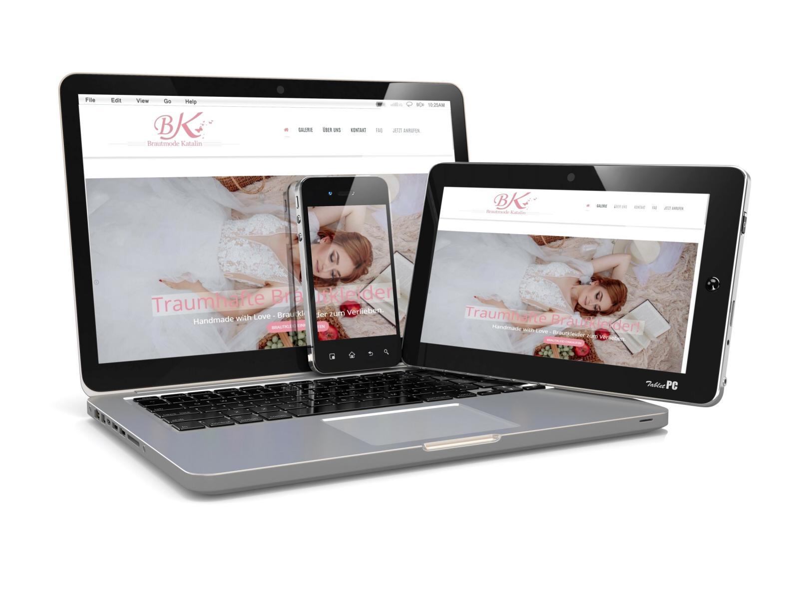 Brautmode Katalin Königsbach Stein Webdesign eberin