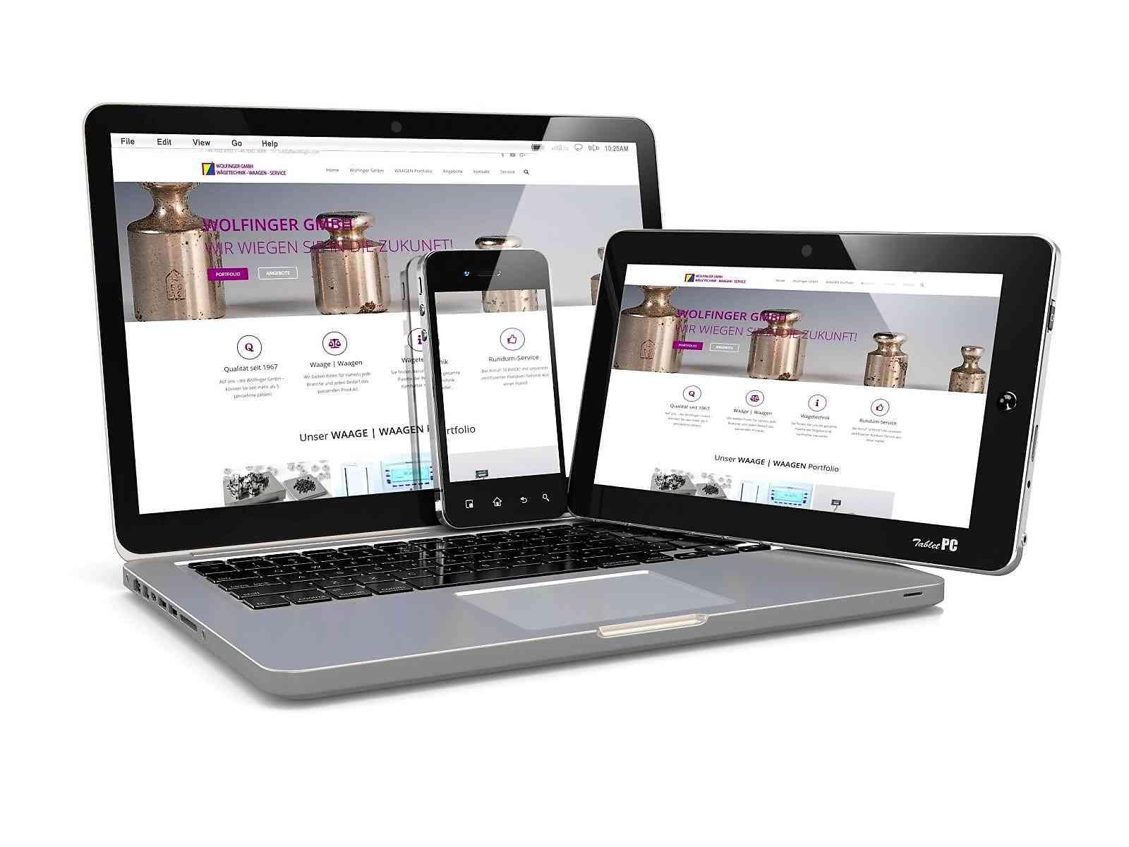 Kunden Webseiten: Waagen Wolfinger Straubenhardt