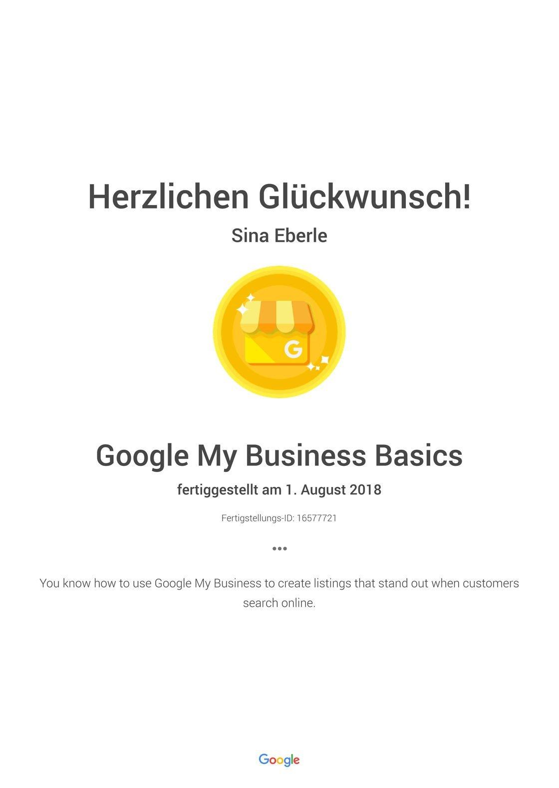 Google My Business Basics- Academy for Ads