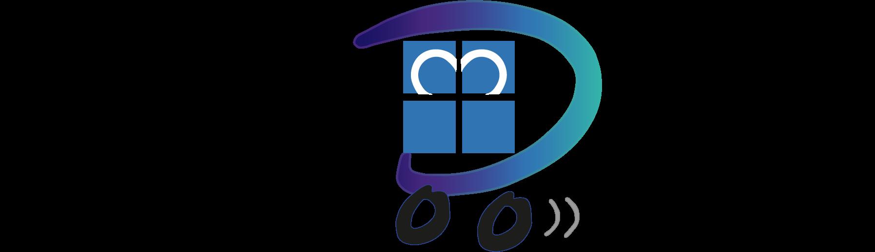 Logo Design Diakoniestation Pforzheim Verlauf